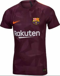 info for 87679 85c03 Details about Nike-17-18-FC-Barcelona-Vapor-Match-3rd-Jersey-847188-683
