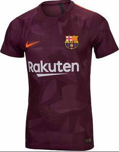 78a400f91d5c7 Nike-17-18-FC-Barcelona-Vapor-Match-3rd-Jersey-847188-683 | eBay