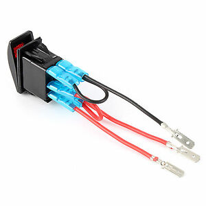 5Pin Jumper Wire Cable Wiring Kit for On/Off Laser Rocker Switch LED ...