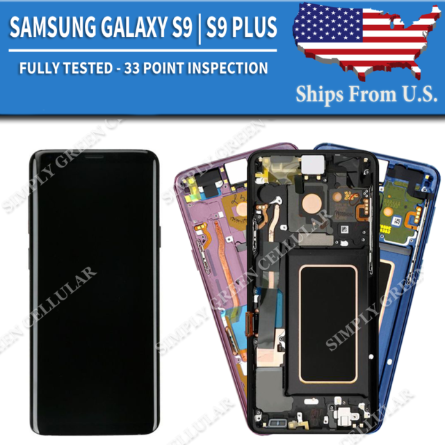 SGMGTT AASG1 Yincell LCD Screen and Digitizer Full Assembly for Galaxy A70 Color : Black Black