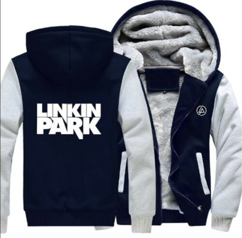 2018 linkin park fans Hooded hoodies sweatshirt warm fleece COAT JACKET US SIZE