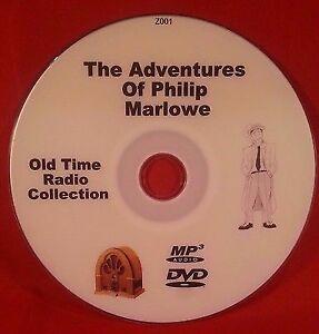Adventures-Of-Philip-Marlowe-OTR-MP3-DVD-105-Old-Time-Radio-Episodes-Audio-Book