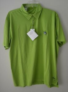 Guy-Harvey-Vintage-Mens-SS-Polo-Shirt-By-Aftco-Bluewater-Green-Choose-Size-NWT