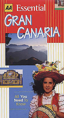 """AS NEW"" Essential Gran Canaria (AA Essential), Macphedran, Gaby, Book"