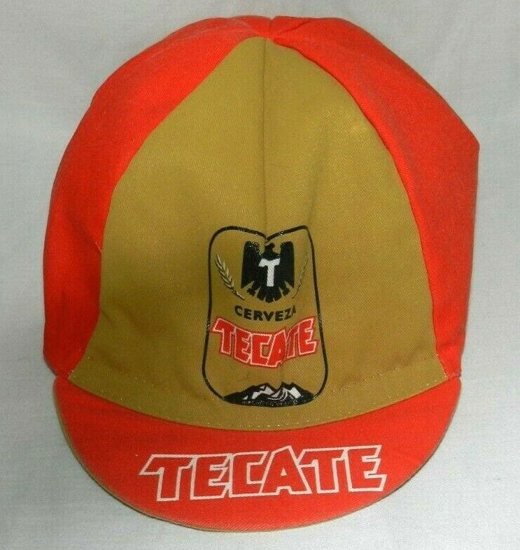 TECATE CERVEZA CYCLE CAP ONE Größe FITS ALL MADE IN ITALY