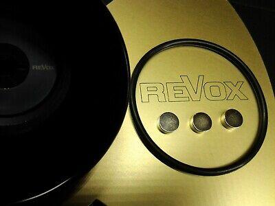 3 Pucks  Ronden für Revox Adapter