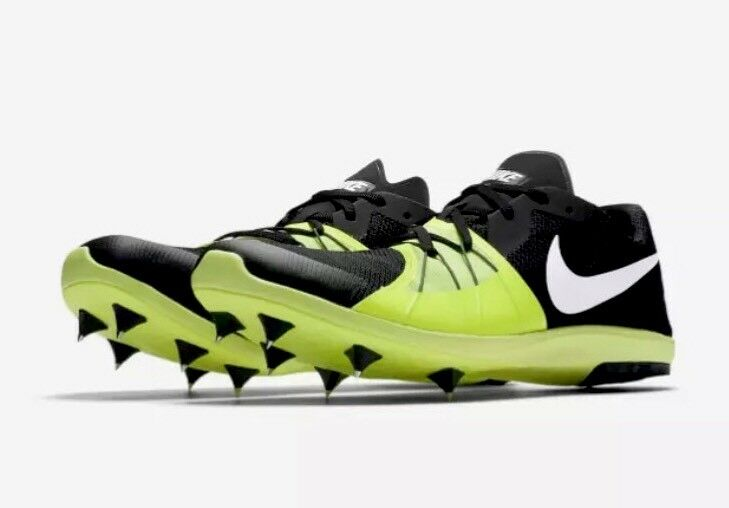 Seasonal price cuts, discount benefits Nike Zoom Forever XC 5 Unisex Spikes 904723 017 Black Volt Men's Comfortable