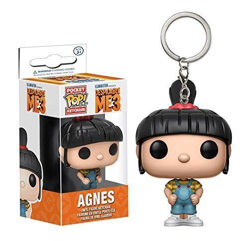 Funko POP Keychain Despicable Me 3 Agnes Action Figure