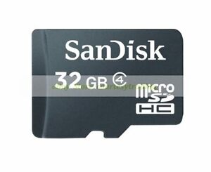 SanDisk-Micro-SD-HC-32GB-32G-Class-4-C4-Flash-Memory-Card-New-Lifetime-Warranty