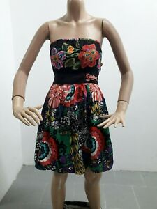Vestitino-DESIGUAL-Donna-Dress-Woman-Veste-Femme-Taglia-size-38-Giromanica-8410