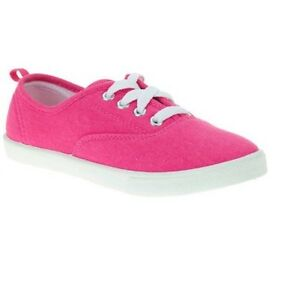 Faded Glory Girls  OR Toddler Girls  Lace-Up Canvas Casual Shoes  93c0278ab3f
