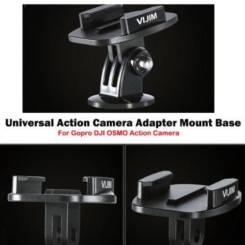 Für Gopro DJI OSMO Action Kamera Universal Adapter Quick Release Mount Base