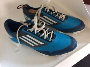 Adidas blue mens golf shoes 8.5 M   eBay