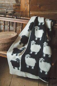 Blanket Throw Bed Sofa Fleece Cozy Plaid Soft Warm 100/% Wool 140x200cm Lota