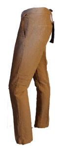 Pantalone-Elegante-Casual-Goffrato-Damascato-Donna-MANILA-GRACE-Nocciola-Tag-38