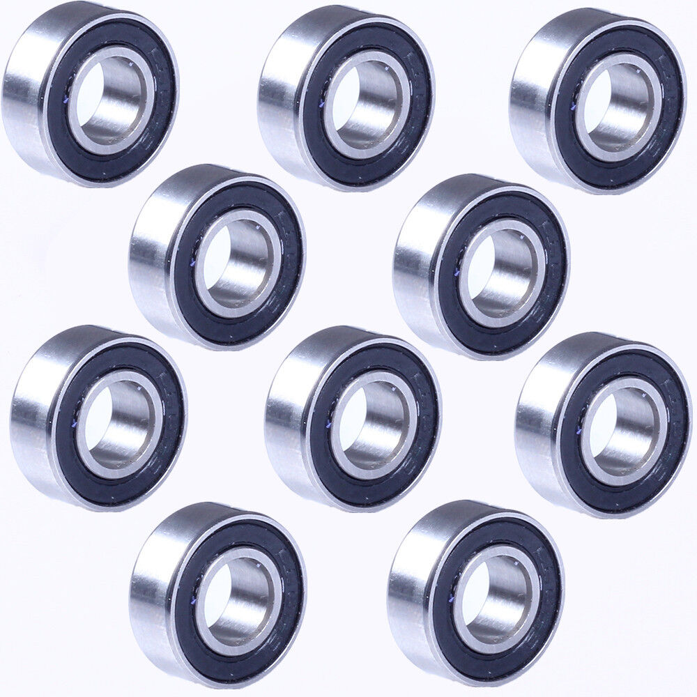 10 pcs 686ZZ 6x13x5 mm Metal Double Shielded Ball Bearing Bearings 686z