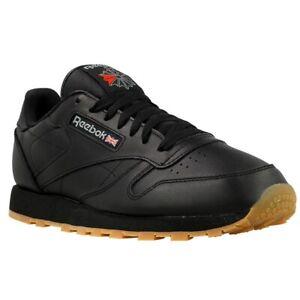 Details zu Reebok Classic Leather 49800 schwarz halbschuhe