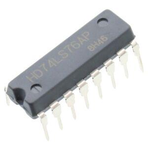 10PCS HITACHI 74LS48 DIP16 DIP-16 IC Original NEW