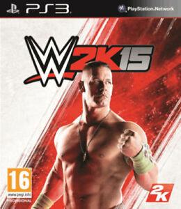 WWE-2K15-PS3-w2k15-NUOVO-SIGILLATO-PAL-1-Classe-Consegna