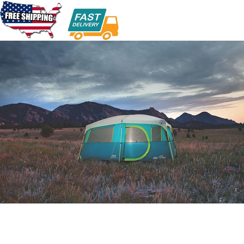 8 persona tienda de artículos deportivos al aire libre campamento senderismo Lago Tenaya cabina de paso rápido