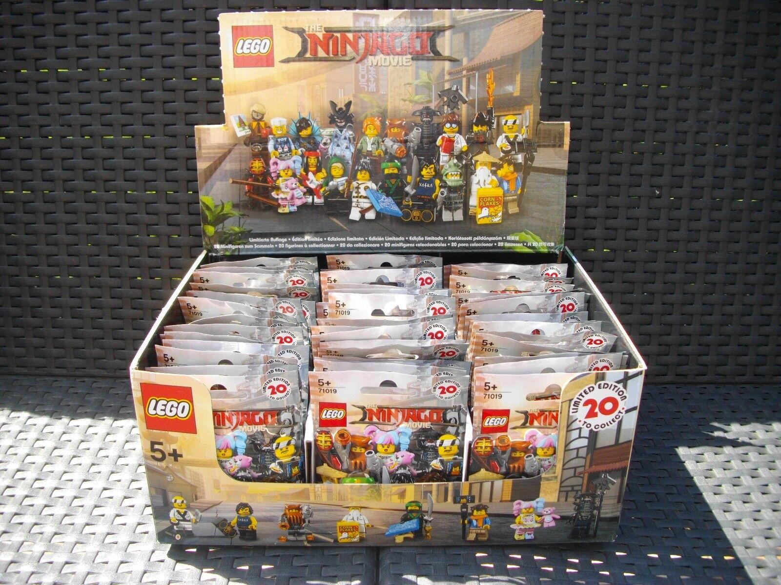 Boite lego 60 sachets mini figurines  Ninjago  non ouvert