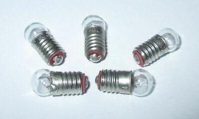 Glühbirne E5.5 3,5V Birnchen für Krippen- Puppenhauslampen 10 Stück  NEU