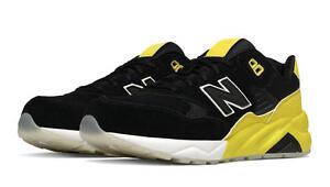 new balance 580 femme noir jaune
