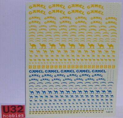Spielzeug Elektrisches Spielzeug Spirited Carpena Decals Crp-c14314 Calca Camel 1/43 Chills And Pains
