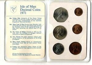 Set-monedas-isla-de-Man-1971-Decimal-Coins