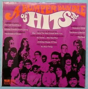VARIOUS-ARTISTS-A-BUMPER-BUNDLE-OF-HITS-1969-UK-11-TRACK-MONO-LP-RECORD