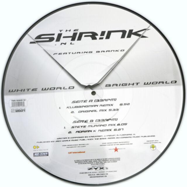 The Shrink White World, Brillante Wo (Picture Vinilo) - Raro -Edición Limitada-