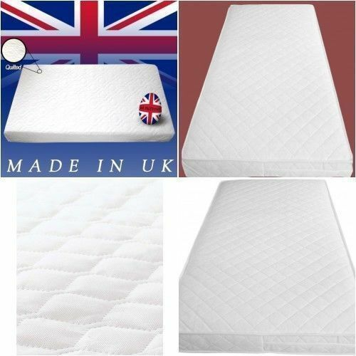 Waterproof Baby COT MATTRESS Breathable Thick 117 X 57 X 7.5CM Nursery Furniture