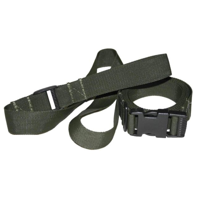 MILITARY PLCE SA80 RIFLE SLING OLIVE GREEN 3 POINT ADJUSTABLE NYLON