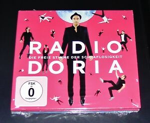 Radio-Doria-The-Free-Stimme-Der-Insomnia-Deluxe-Edition-CD-DVD-NEW-SEALED