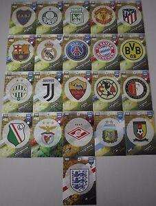 Panini-Adrenalyn-XL-FIFA-365-2018-Wappen-Badge-Logo-Zum-Aussuchen