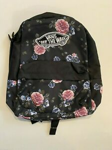 Vans New Realm Rose Bud Floral Backpack Women's OSFA