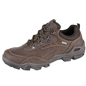 de pour Chaussure marron Baskets imperméable homme Lu randonnée cuir en M374b dEqFqO