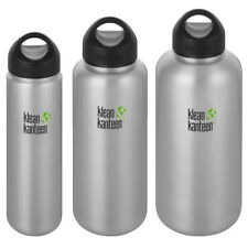 Neuf avec étiquettes Klean Kanteen Insulated Leak Proof Wide Mouth Bouteille 20 Oz environ 566.98 g Gray River Rock