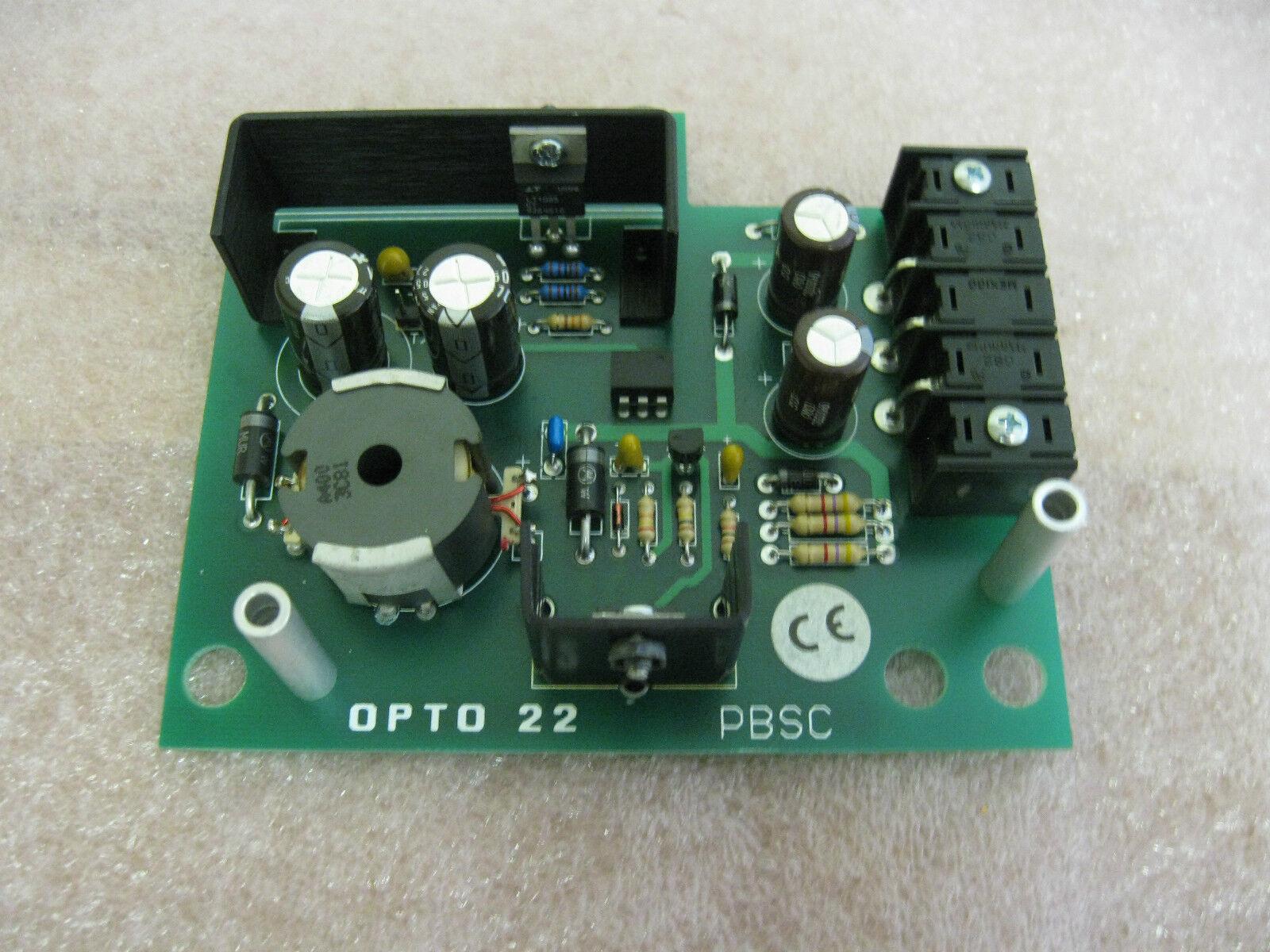 Opto 22 22 22 pbsc fuente de alimentación 33e63d