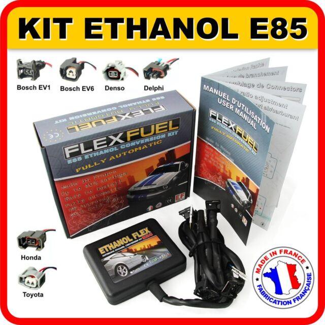 KIT ETHANOL E85 - 4 CYLINDRES, FLEX FUEL KIT, KIT DE CONVERSION BIOETHANOL E85..