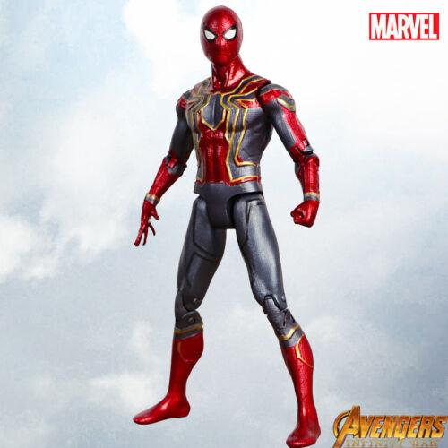 "Marvel Infinity War Avengers Iron Spider Spiderman 6/"" Loose Action Figure US"
