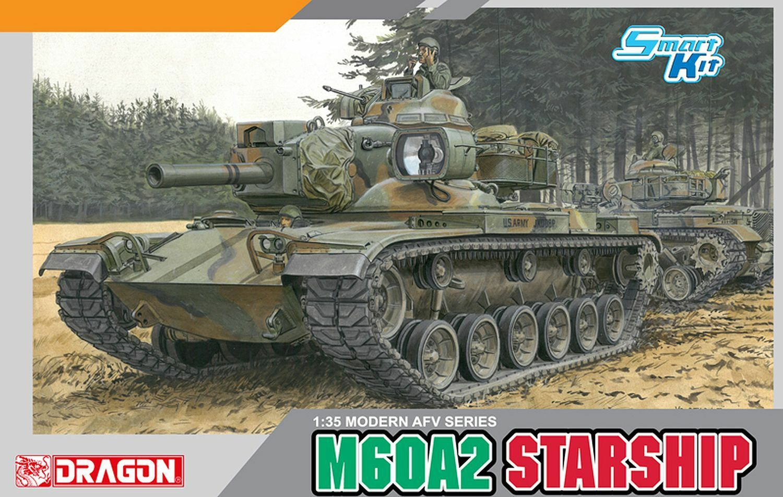 Dragon 1 35  3562 M60A2 Starship u. S. ARMY