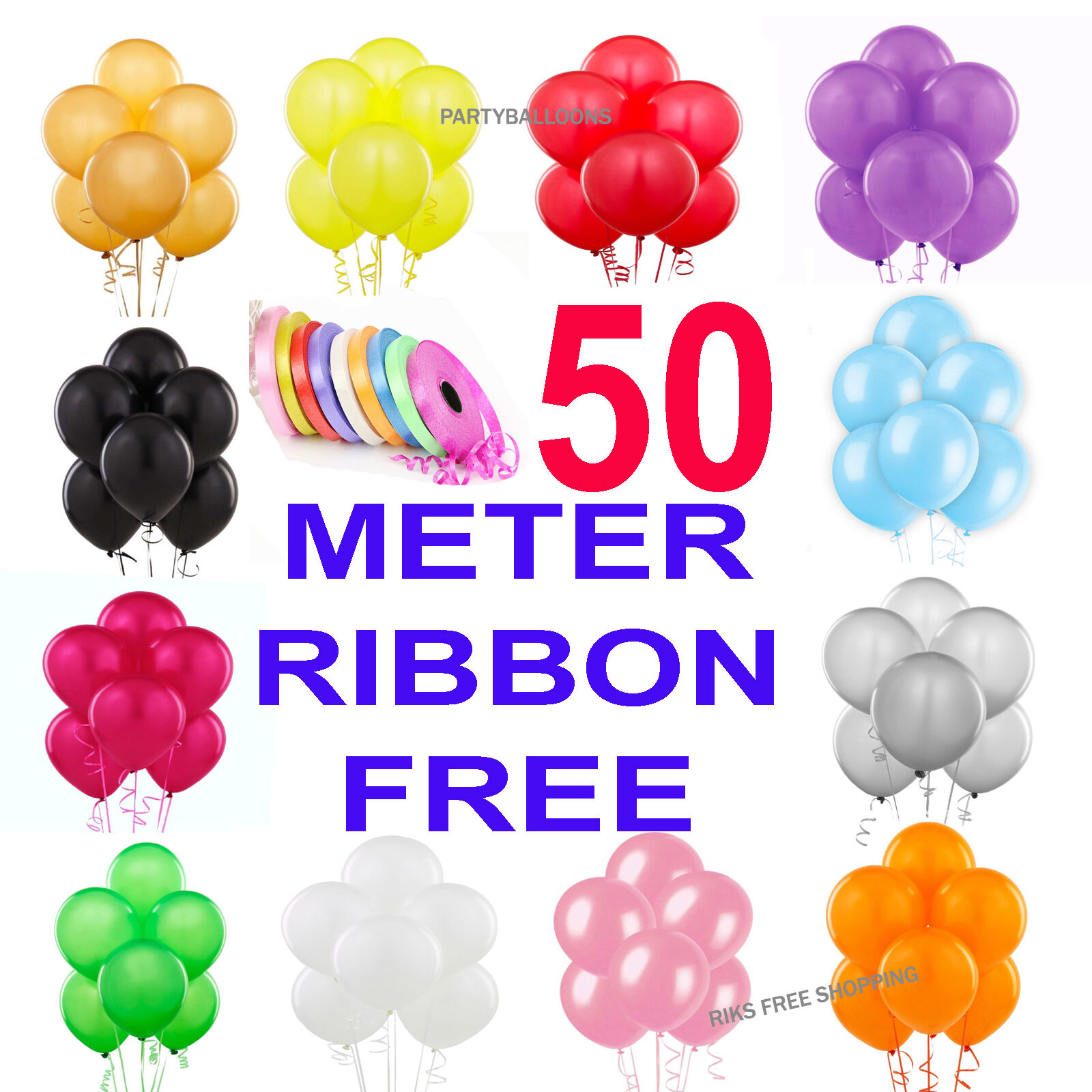 100 LARGE VERY CLEAR BALLOONS HIGH QUALITY BALONS PARTY BIRTHDAY BALLONS Wedding
