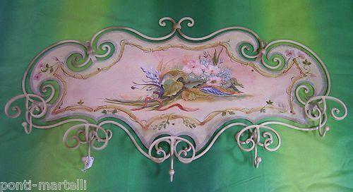 PORTE MANTEAU Fer Forgé . Italian Style Style Style et Design. Créations personnalisées. 739 f51115