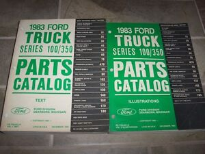 1983 ford truck parts