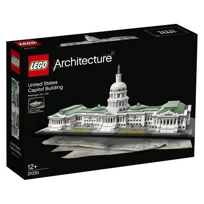 LEGO® Architecture - 21030 Das Kapitol + Neu & ungeöffnet  passt zu 21029 21022