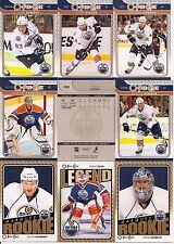 2009-10 OPC O-Pee-Chee Edmonton Oilers Complete Team Set w/Foil CL (31)