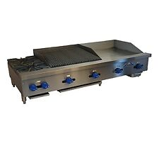 Comstock Castle Fhp72 30 15rb 72 Countertop Gas Griddle Charbroiler