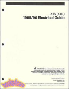 95 96 jaguar xjs shop manual electrical guide wiring diagrams 4 0 rh ebay co uk