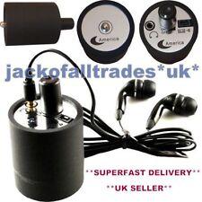 Profesional Contacto Micrófono Súper Pared Espía Audio Internos Dispositivo